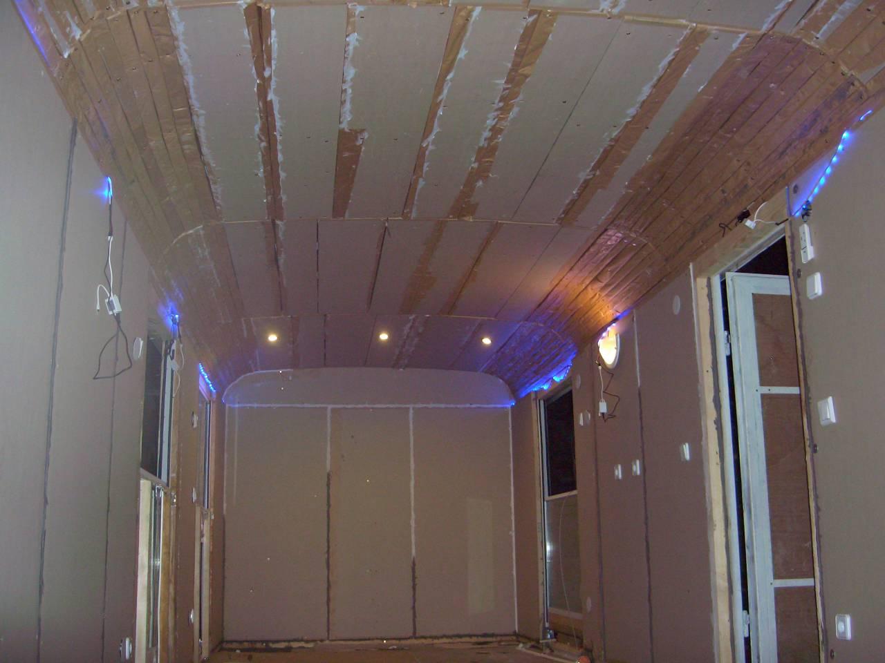 Innenraum Mit Strohbauplattendämmung